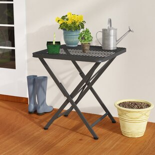Signe Folding  Metal Bistro Table By Darby Home Co