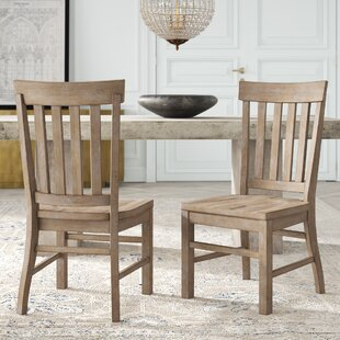 Ellenton Solid Wood Dining Chair (Set Of 2) by Greyleigh 2019 Sale