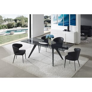 Shinkle 5 Piece Extendable Dining Table Set