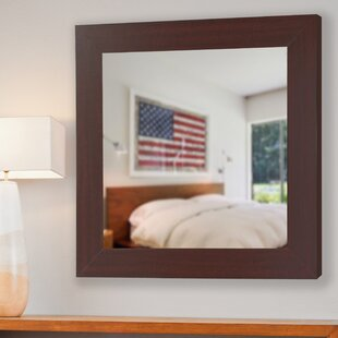 Affordable Price Darien Square Wall Mirror By August Grove