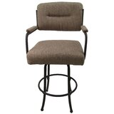 Sheryll 26 Swivel Bar Stool with Cushion by Red Barrel Studio®