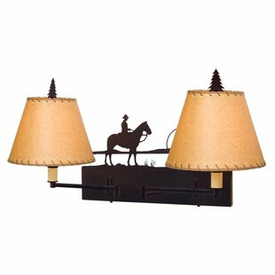 Steel Partners Cowboy Sunset Swing Arm Lamp