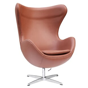 Inner Leather Lounge Chair by Fine Mod Imports