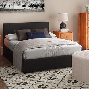 Leon Upholstered Storage Bed Frame By Wade Logan