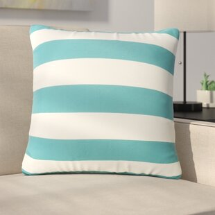 Bridgwater Square Striped Outdoor Throw Pillow (Set of 2)