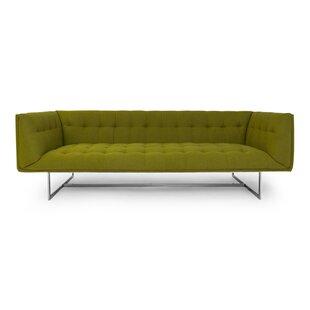 Shaner Mid Century Modern Chesterfield Sofa