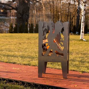 Curonian Dragon Steel Wood Fire Pit
