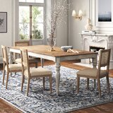 Mariette Extendable Dining Table by Kelly Clarkson Home