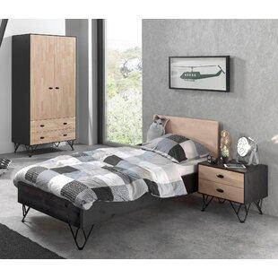 Elder 3 Piece European Single Bedroom Set By Isabelle & Max
