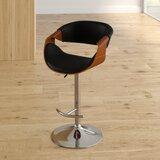 Alvin Swivel Adjustable Height Bar Stool by Corrigan Studio®