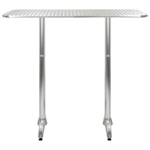 Extendable Stainless Steel Dining Table By Sol 72 Outdoor