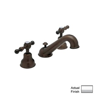 Rohl Cisal Widespread Bathroom Faucet with Drain Assembly