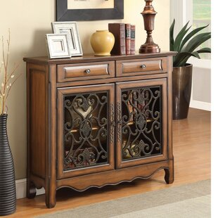 Crothers Wooden 2 Door Accent Cabinet by Fleur De Lis Living