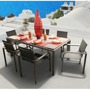Bellini Home and Garden Parkalia Diagonal 7 Piece Dining Set