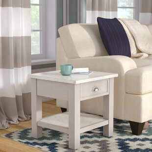 Burket Faux End Table By Three Posts