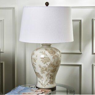 Casler Ceramic Floral 30 Table Lamp