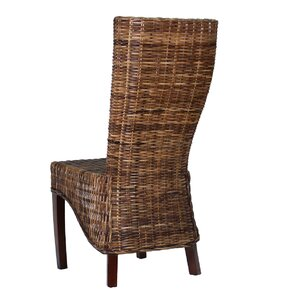 Kauky Solid Wood Dining Chair by Ibolili