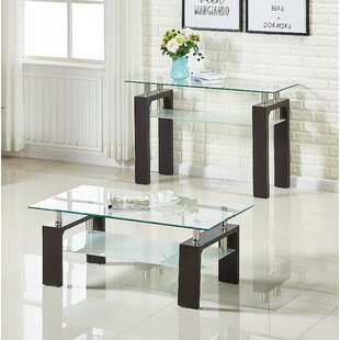 Reviews Brittaney End Table (Set of 2) ByEbern Designs