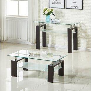Best Price Brittaney End Table (Set of 2) ByEbern Designs