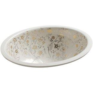 Top Reviews Mille Fleurs Ceramic Oval Undermount Bathroom Sink By Kohler