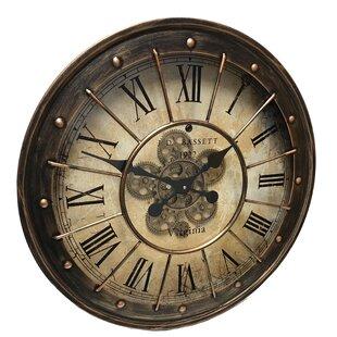 Wall Clock Moving Gears Atcsagacity