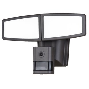 Swift Wi-Fi Camera LED Dusk To Dawn Outdoor Floodlight With Motion Sensor by Freeport Park #1