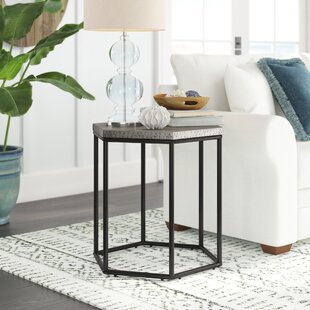 Glancy End Table by Mercury Row