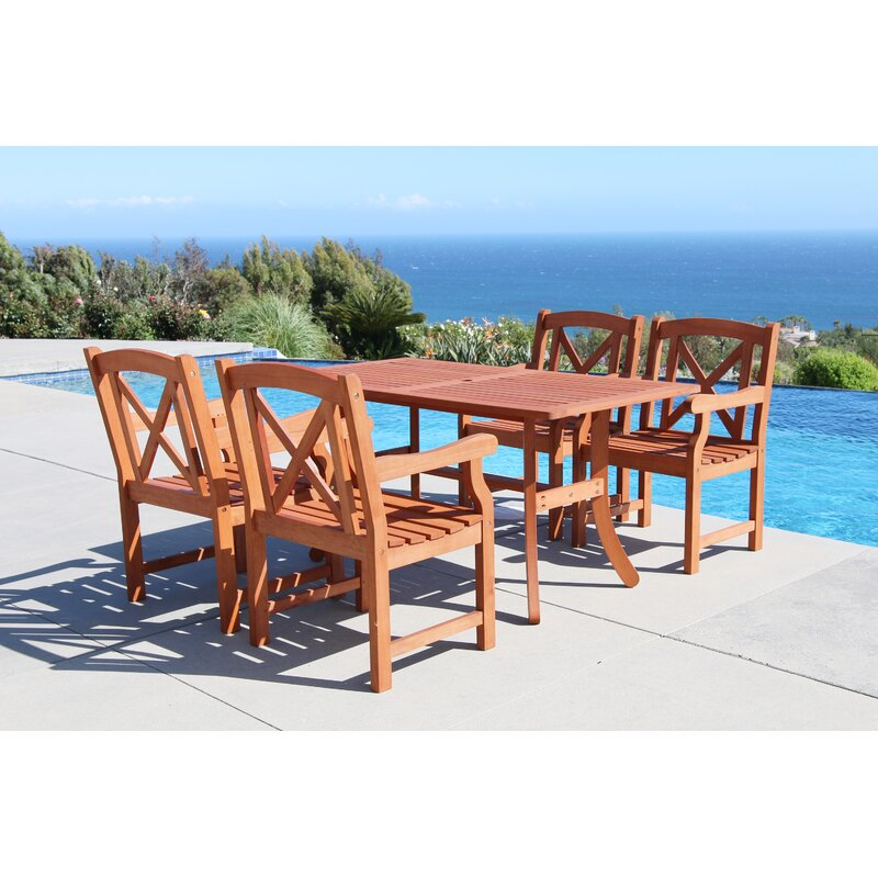 100794ae8b30 Breakwater Bay Blythe 5 Piece Dining Set