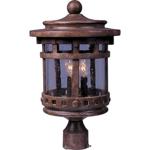 Carcassonne Outdoor 3-Light Lantern Head by Loon Peak