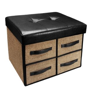 Bovee Tufted Storage Ottoman by Winston Porter