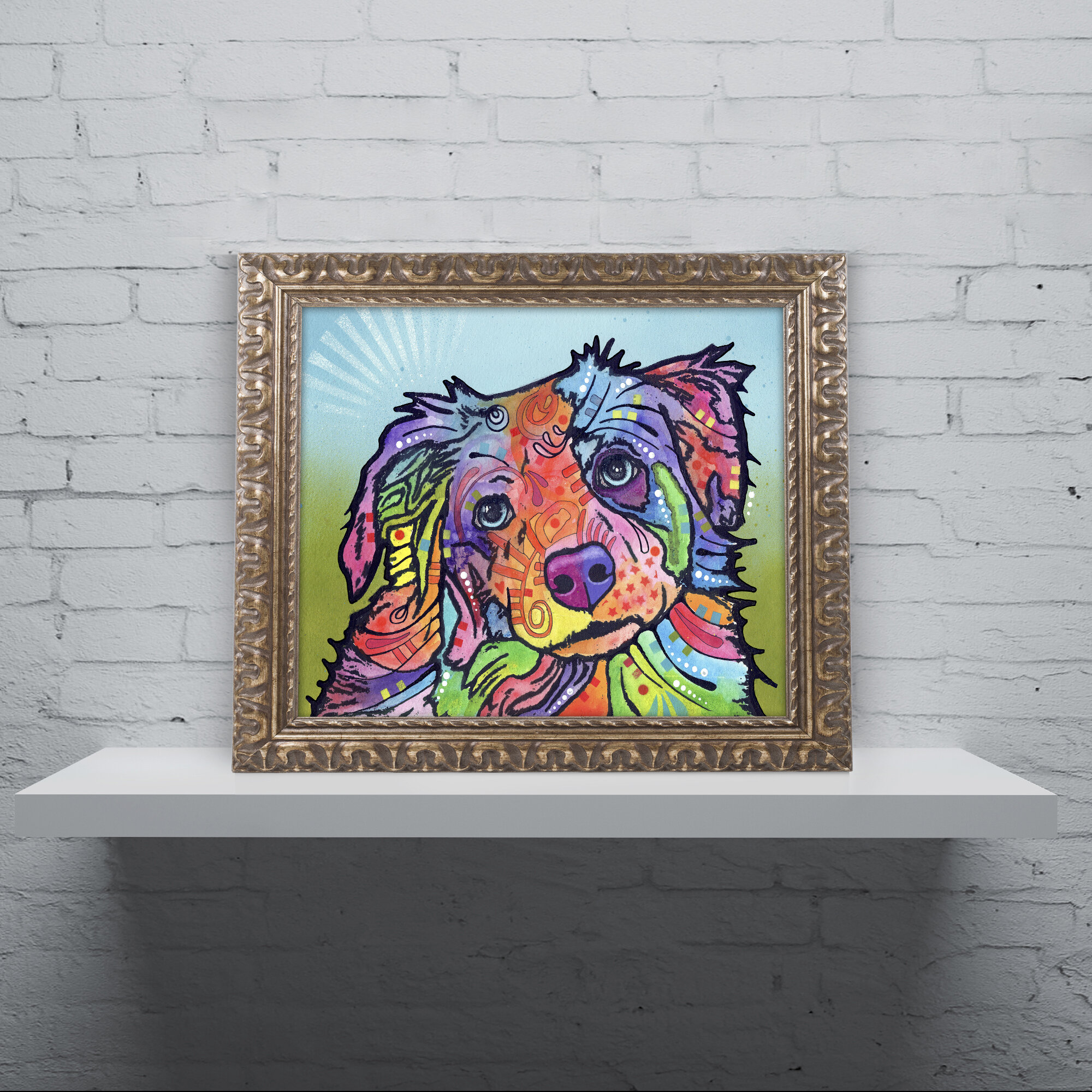 Trademark Art Reagan Ornate Framed Painting Print On Canvas Wayfair