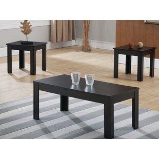 Halette 3 Piece Coffee Table Set