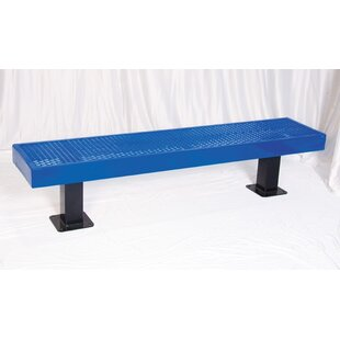 Steel Mall Bench