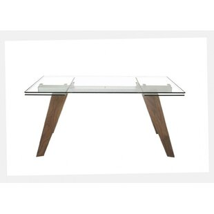 Williston Forge Brand Modern Extendable Dining Table