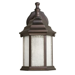 Charlton Home Will LED Outdoor Wall Lantern