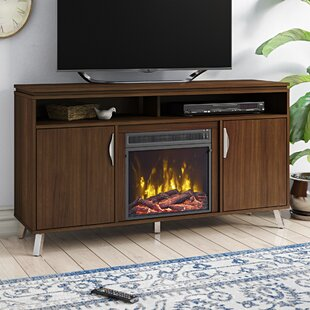 Geraldina TV Stand for TVs up to 60 with Fireplace Included