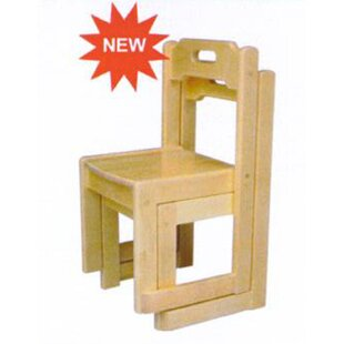 Birch Stackable Kids Chair by A+ Child Supply