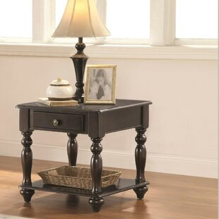 Lauryn Traditional End Table by Alcott Hill
