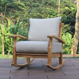 Summerton Teak Rocking Chair With Cushions
