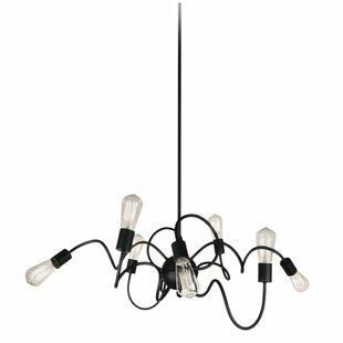 Orren Ellis Debussy 8-Light Sputnik Chandelier