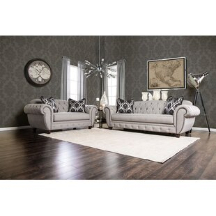 Rosdorf Park Londono 2 Piece Living Room Set