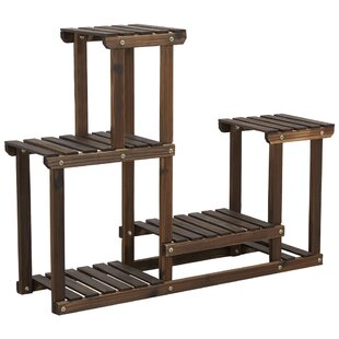 Clitherall Rectangular MultiTiered Plant Stand