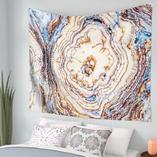 crystal agate wall tapestry - Bedroom Tapestry