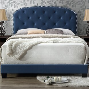 Willa Arlo Interiors Noelie Queen Upholstered Panel Bed
