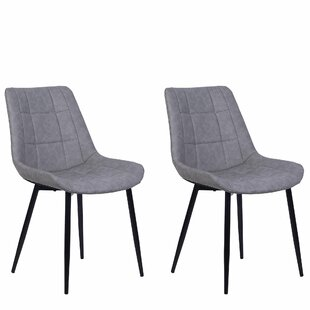 Hundley Upholstered Dining Chair (Set Of 2) By Mercury Row