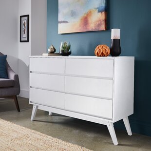 Bellows 6 Drawer Dresser