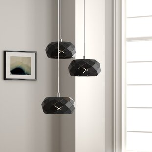 Bixby 3-Light LED Cluster Pendant by Orren Ellis