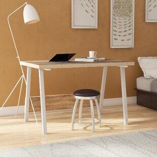 Erhard Wood And Steel Desk by Ebern Designs Design