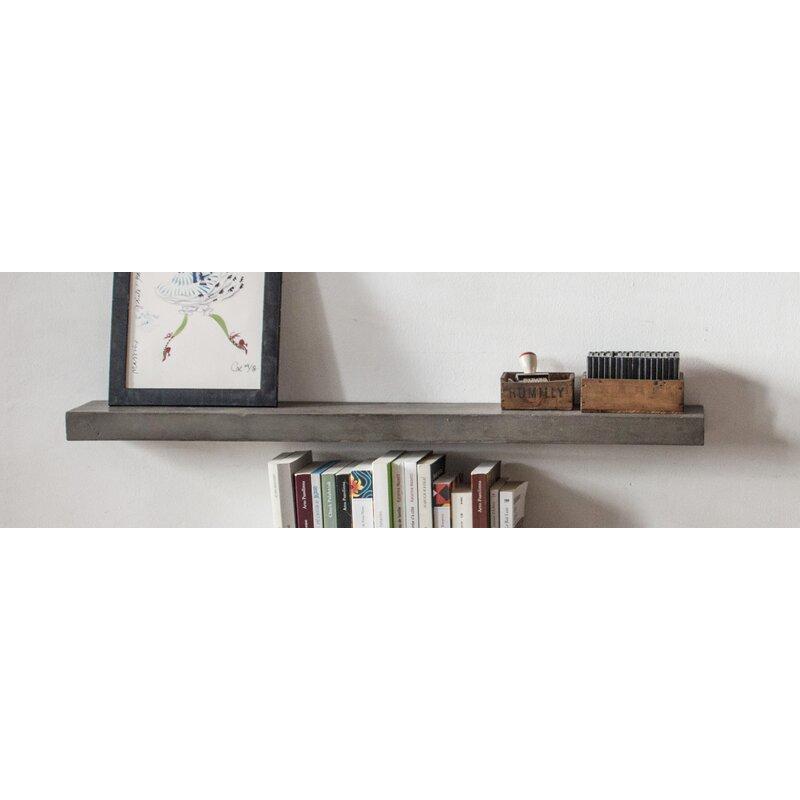 Lyon Beton Sliced Floating Shelf Reviews Wayfair