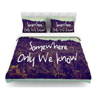 Somewhere by Rachel Burbee Duvet Cover